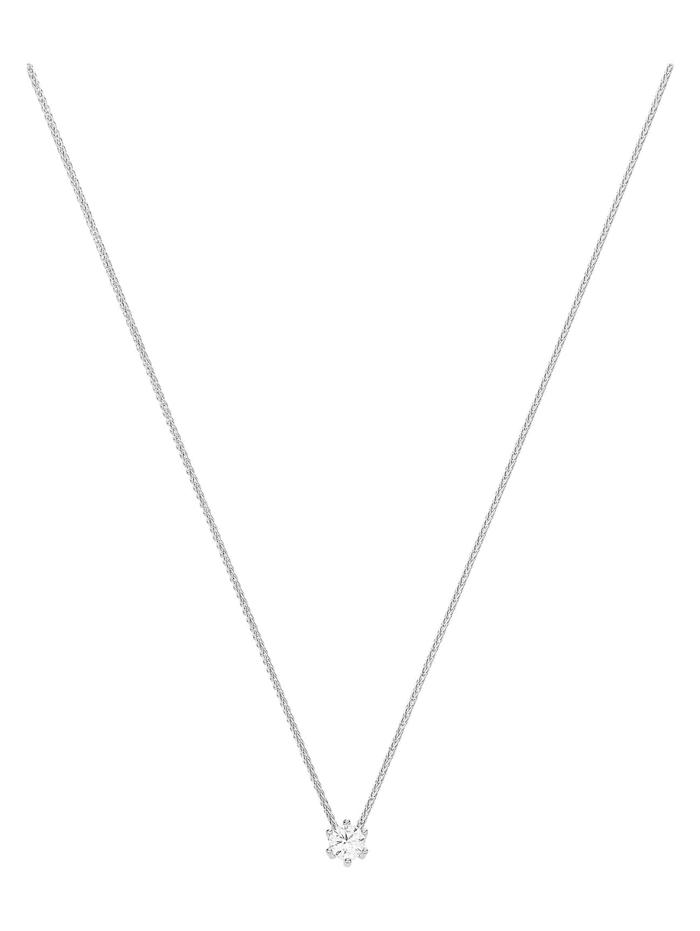 CHRIST Diamonds CHRIST Diamonds Damen-Kette 585er Weißgold 1 Diamant, weiß