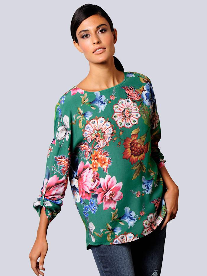 Bluse in topaktueller Farbgebung