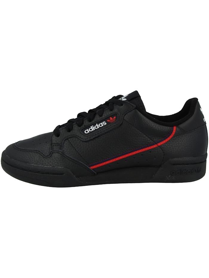 Adidas Originals Sneaker low Continental 80, schwarz