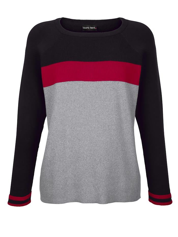 Pullover in Streifen-Optik
