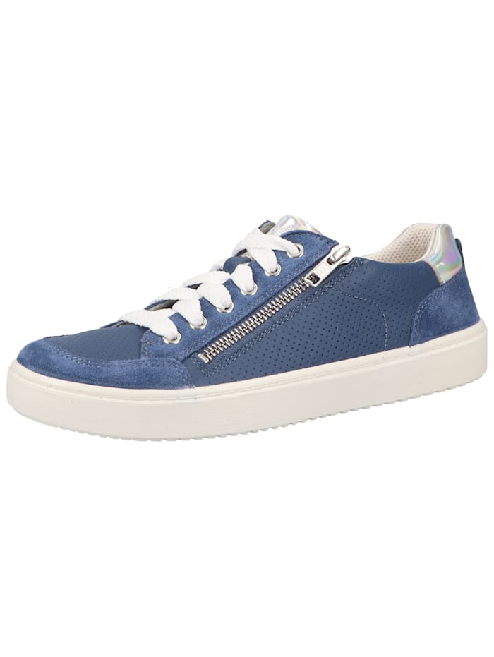 Superfit Superfit Sneaker, Blau/Silber