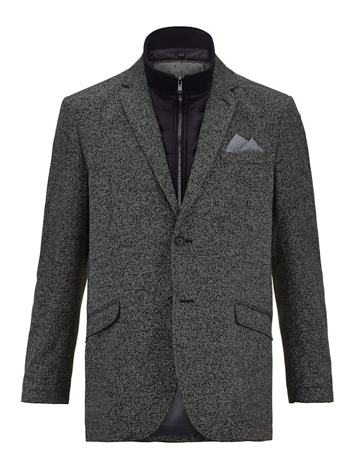 BABISTA Veste de costume pour l'intérieur et l'extérieur, Noir/Blanc