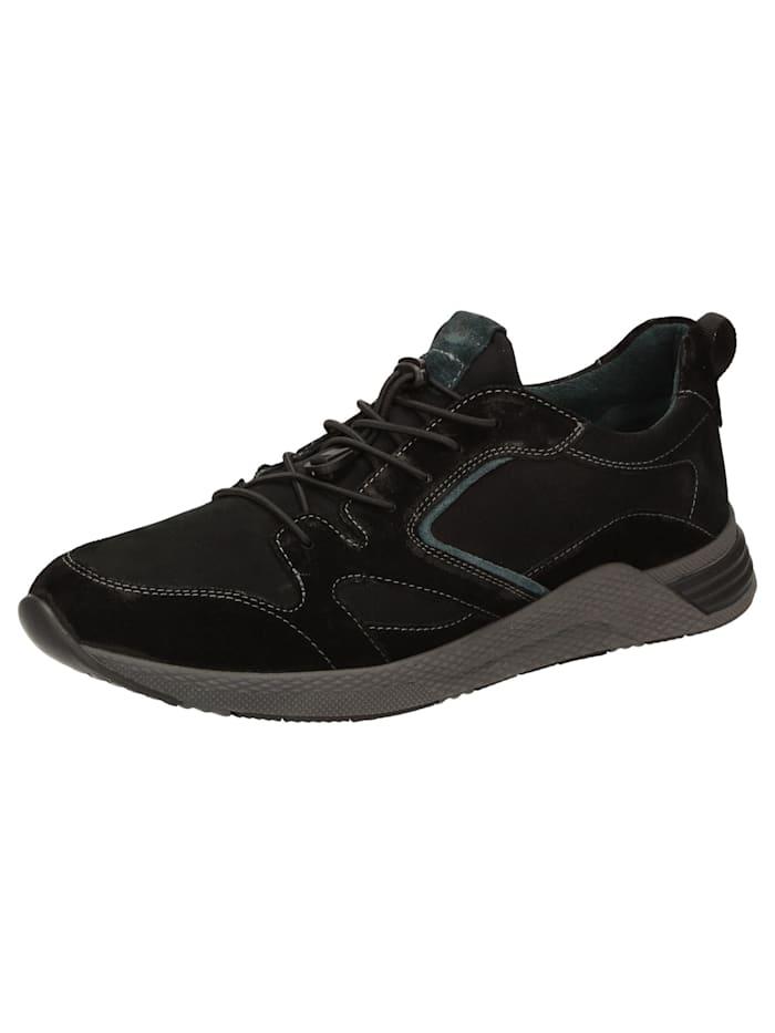 Sioux Sneaker Denjalo-701, schwarz
