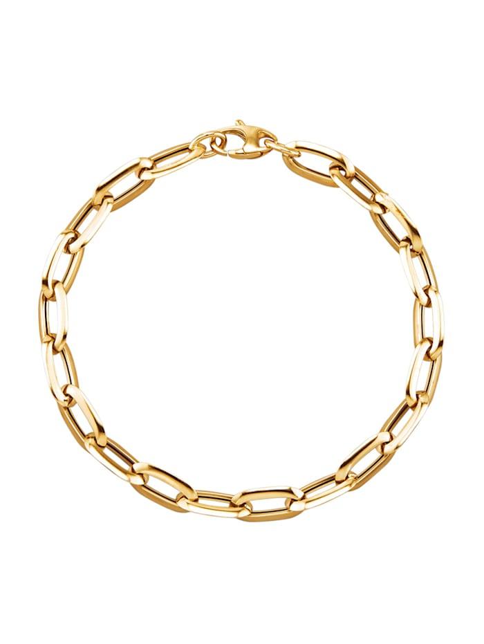 Diemer Gold Armband – ankarlänk, Guldfärgad