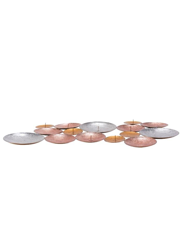 IMPRESSIONEN living Teelichtschale, silber-/gold-/kupferfarben