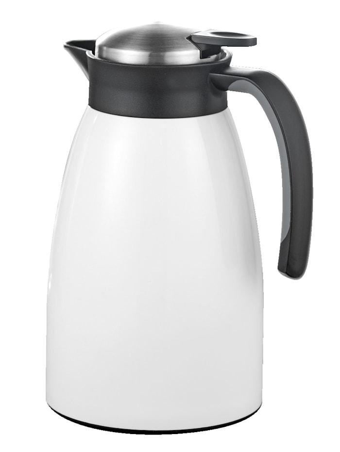 Esmeyer Isolierkanne 1,5 Liter, weiß