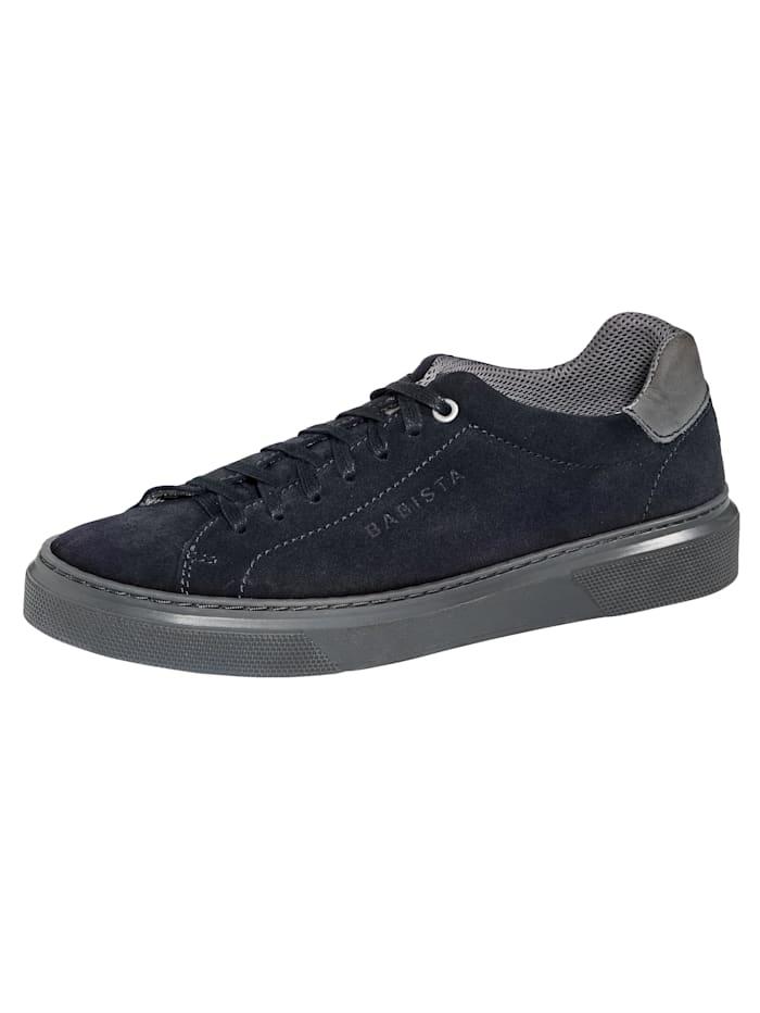 BABISTA Sneaker aus weichem Veloursleder, Marineblau
