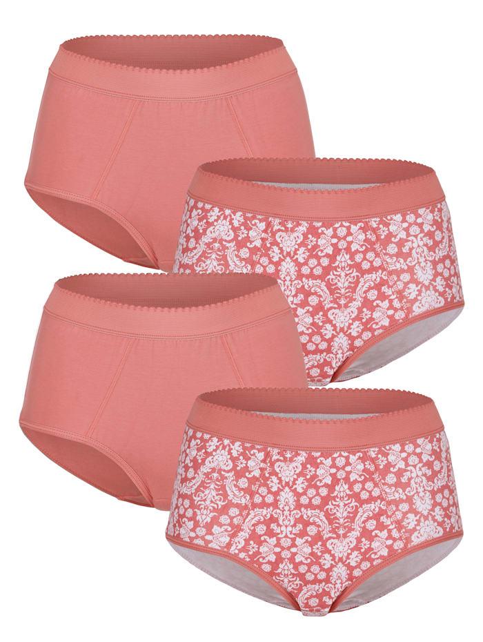 Harmony Culottes à effet ventre plat, Bois de rose