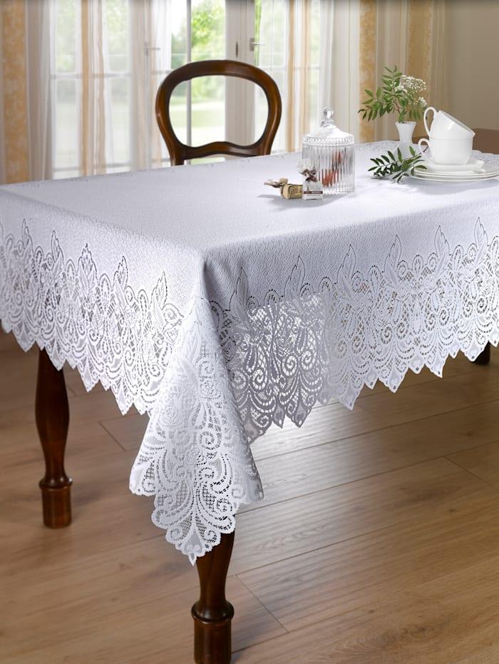 Webschatz Linge de table dentelle, blanc