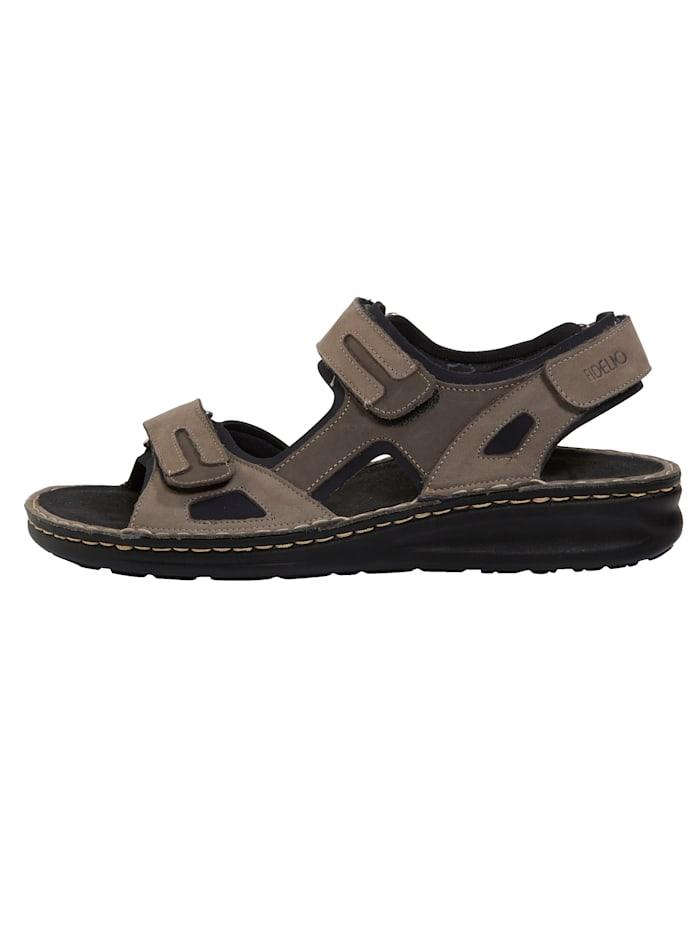 Sandaaltje met speciale inzet voor hallux valgus