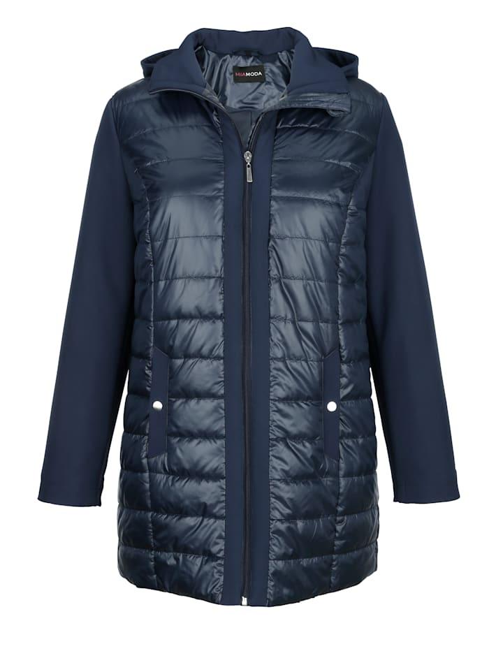 Jacke mit Ärmeln aus Softshell