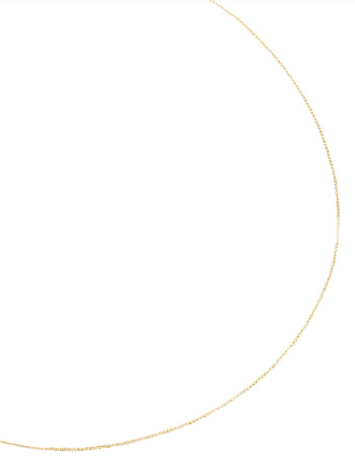 KLiNGEL Ankerkette in Gelbgold, Gelb