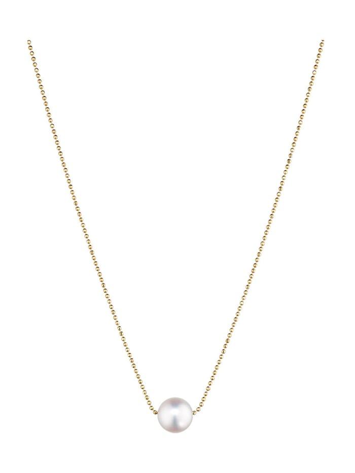 CHRIST Pearls CHRIST Pearls Damen-Kette 585er Gelbgold 1 Akoya, perlmutt