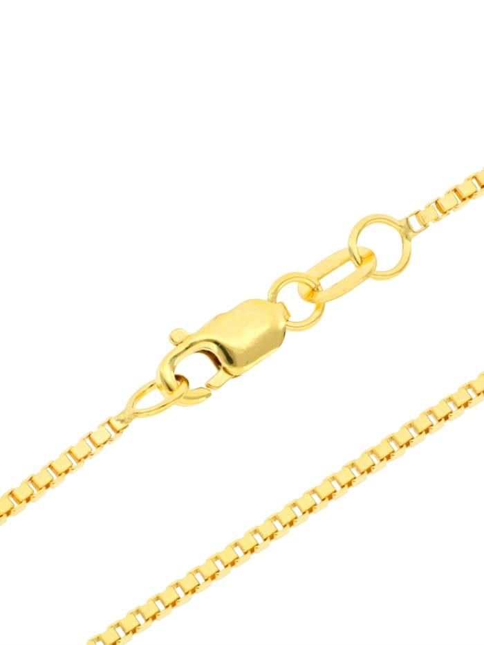 Grazielli Venezianerkette in Gelbgold 375, Gelbgoldfarben