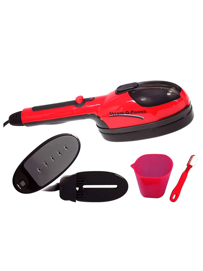 Steam-O-Power® 2-in-1, rood/zwart