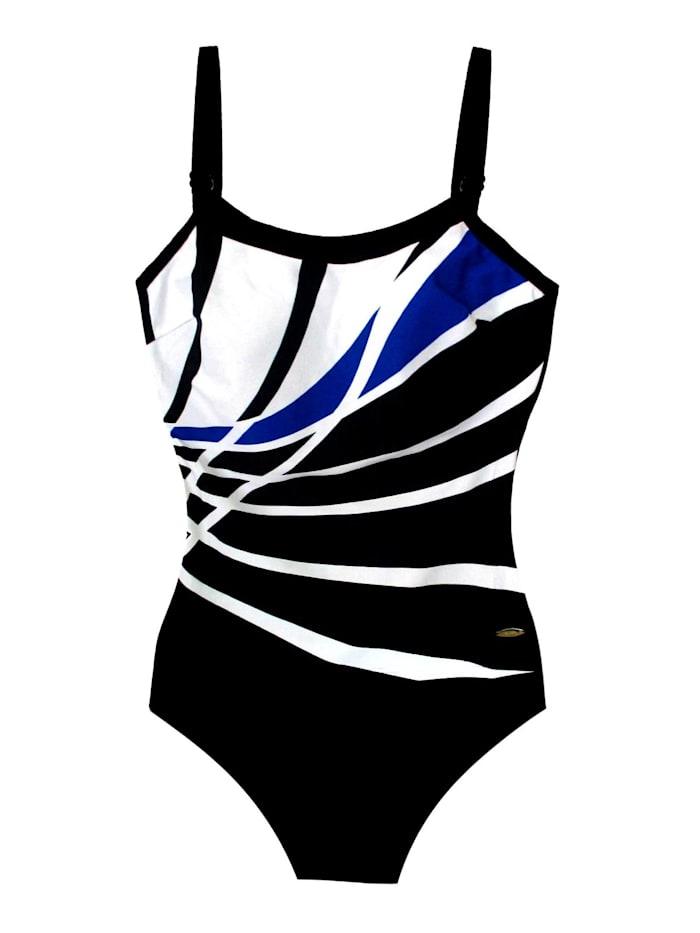 Susa Badeanzug, schwarz-blau