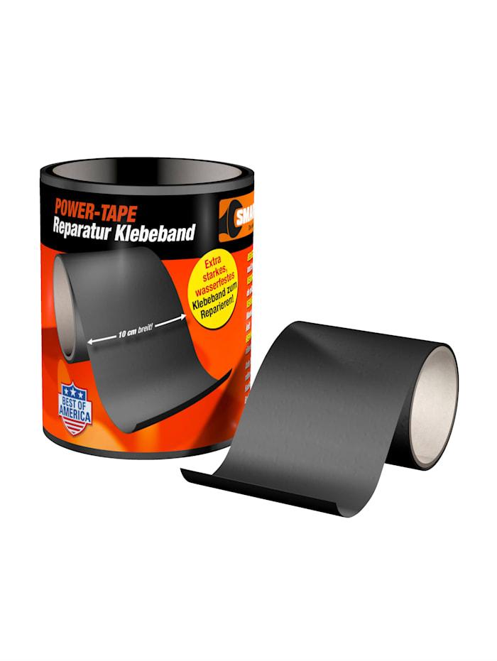 """HSP Hanseshopping Monipuoliteippi """"Power-tape"""" 20 x 150 cm, Musta"""