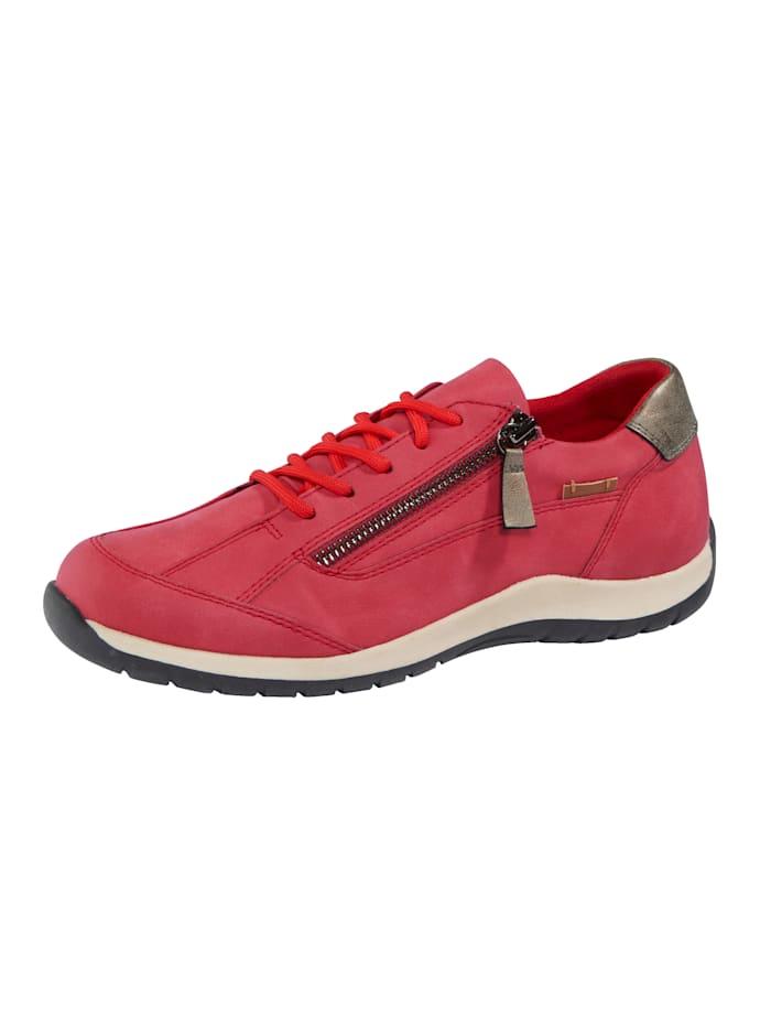 Liva Loop Sneaker mit seitlichem Ristreißverschluss, Rot