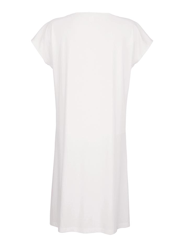 Nachthemd met elegante kanten inzet
