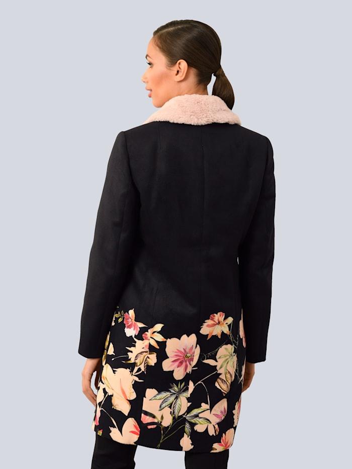 Mantel mit abnehmbarem Kragen