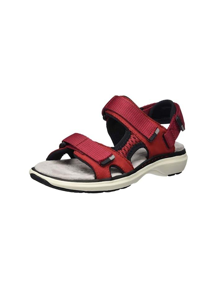 Clarks Sandale Sandale, rot