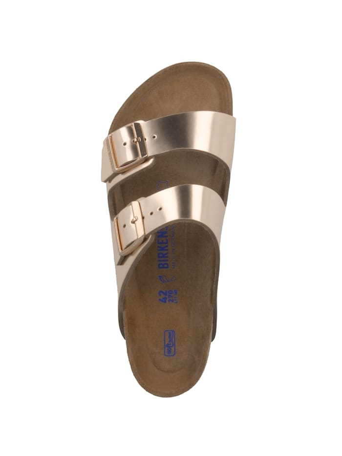 Sandale Arizona Glattleder Weichbettung normal