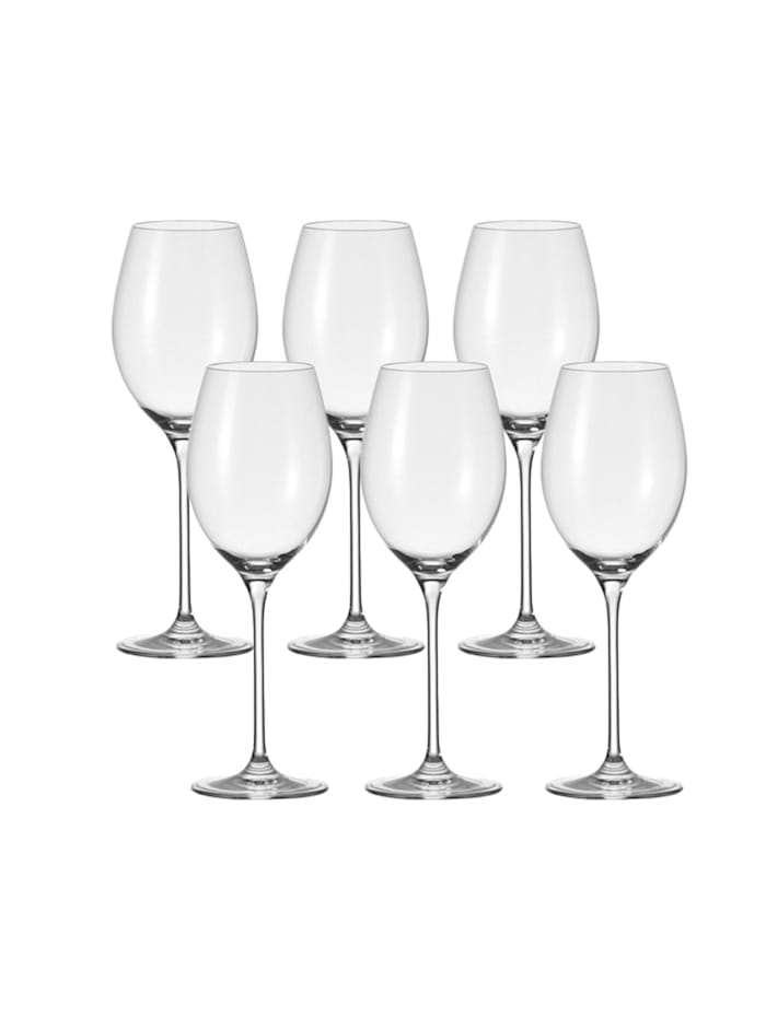Leonardo Rotwein-Glas 6er-Set Cheers, Transparent