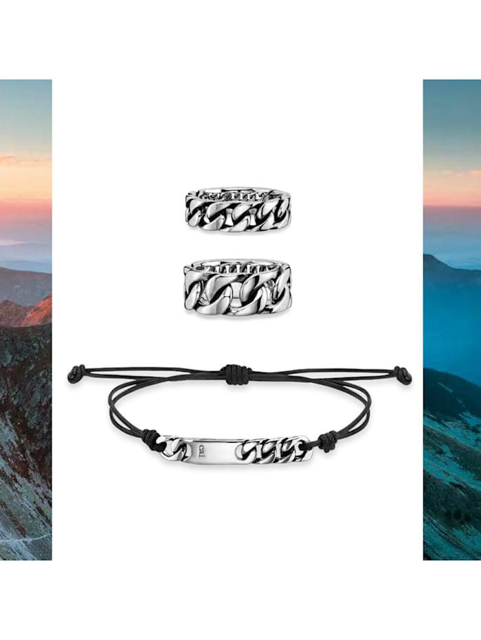 Ring 925/- Sterling Silber ohne Stein Glänzend 925/- Sterling Silber