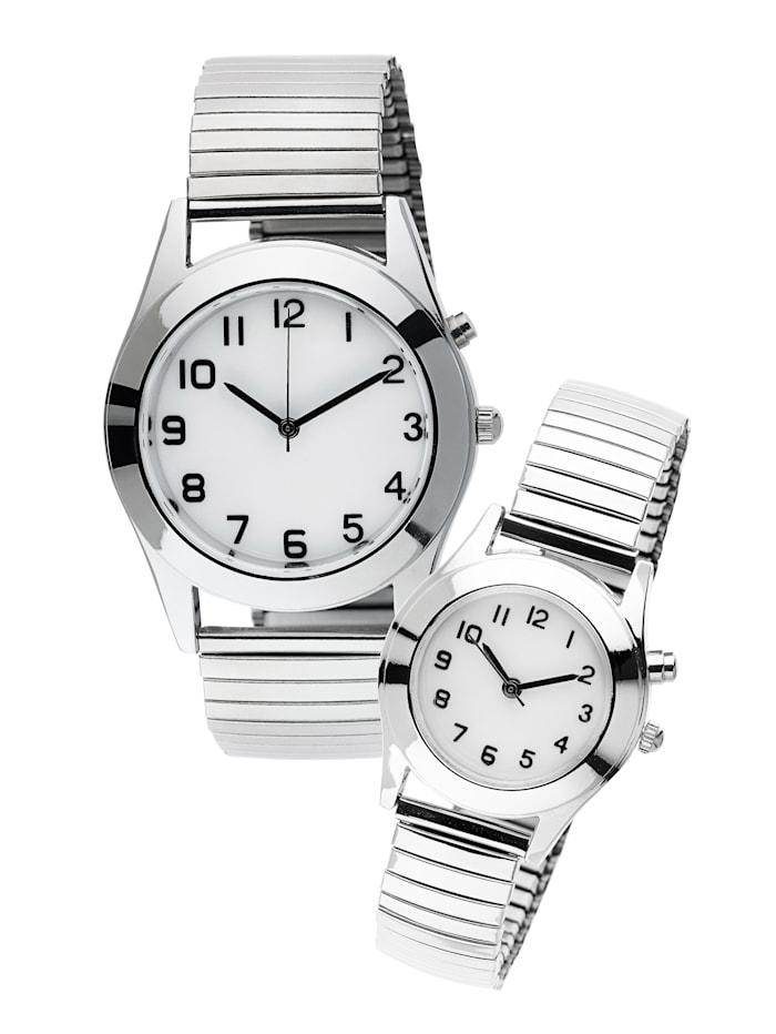 Maximex Horloge, Zilverkleur