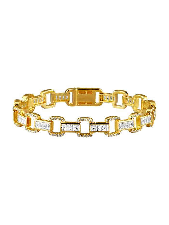 AMY VERMONT Bracelet avec zirconia, Coloris or jaune