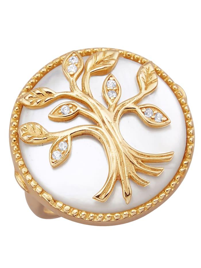 Lebensbaum-Ring, Weiß