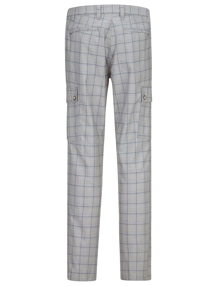 Pantalon cargo en tissu estival