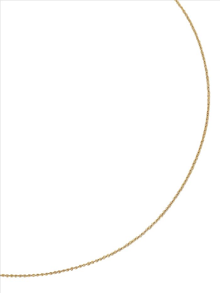 Diemer Gold Ankerkette in Gelbgold, Gelbgoldfarben