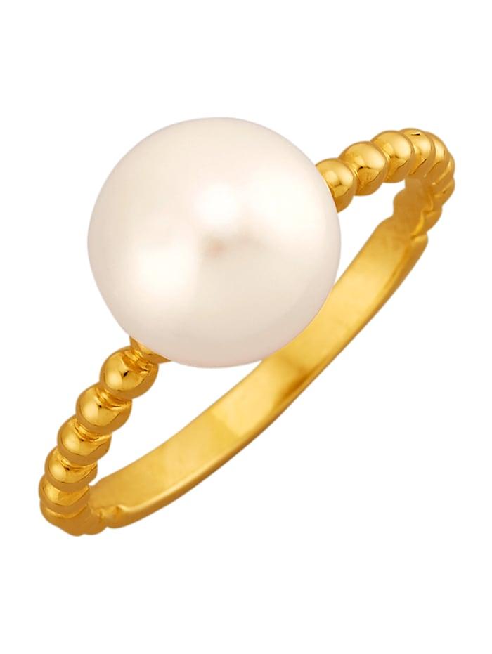 Damenring, 925, Gelbgoldfarben
