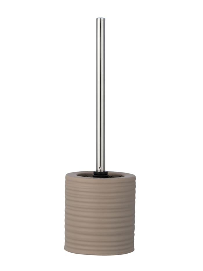 Wenko WC-Garnitur Mila Sand Keramik, Braun