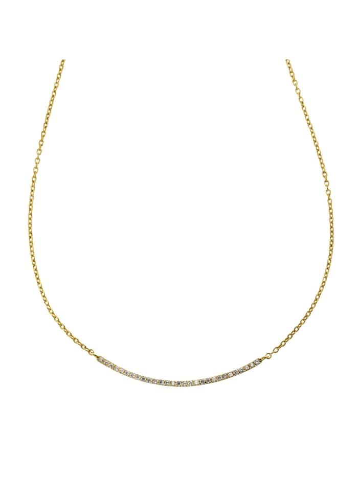 Celesta Collier 375/- Gold 45cm Glänzend, gelb
