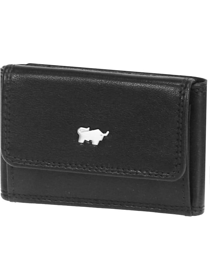 Basic Geldbörse I Leder 9,5 cm
