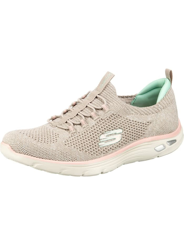 Skechers EMPIRE D LUX SHARP WITTED Sneakers Low, taupe