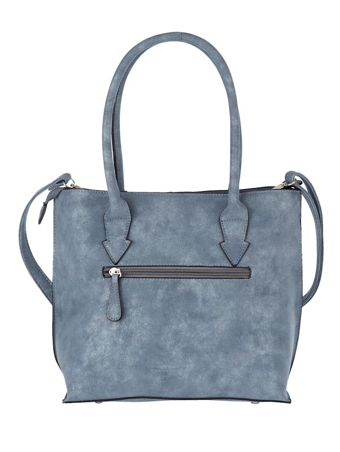 Väska med två mindre väskor 3 delar