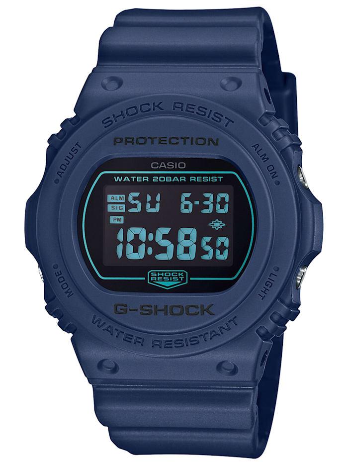 Casio G-Shock Armbanduhr mit Digitalanzeige, Schwarz