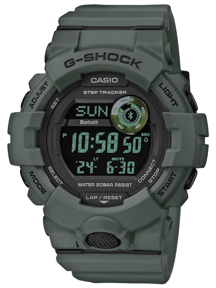 Casio G-Shock G-Squad Herren-Armbanduhr mit Bluetooth, Schwarz