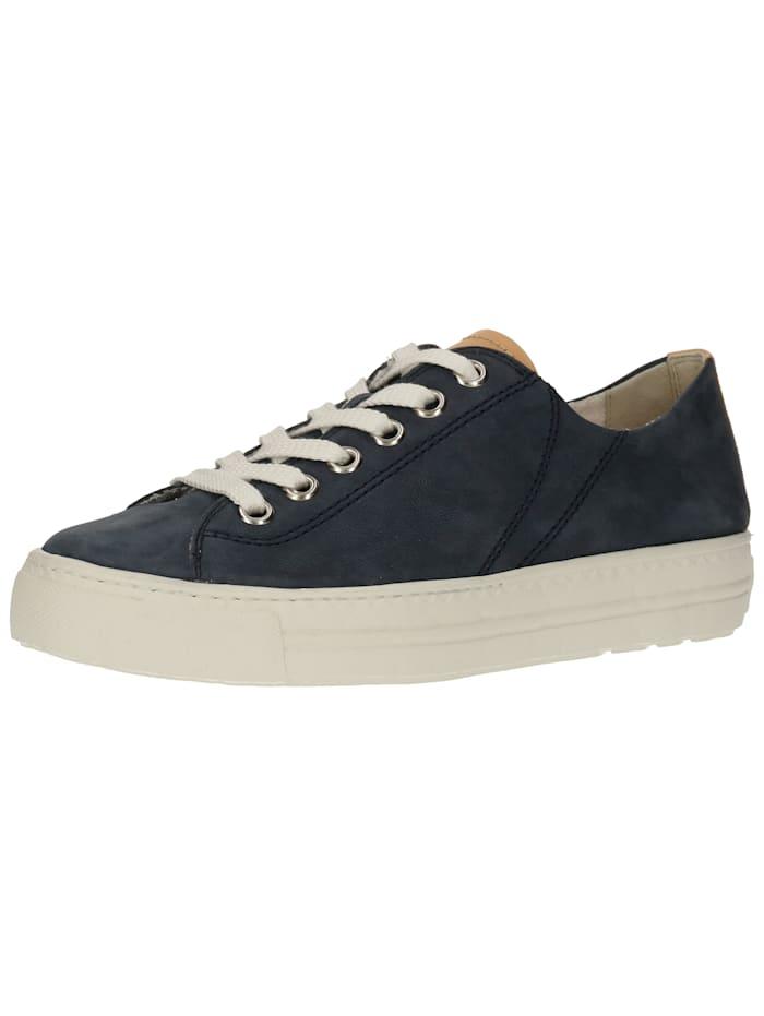 Paul Green Paul Green Sneaker, Blau/Braun