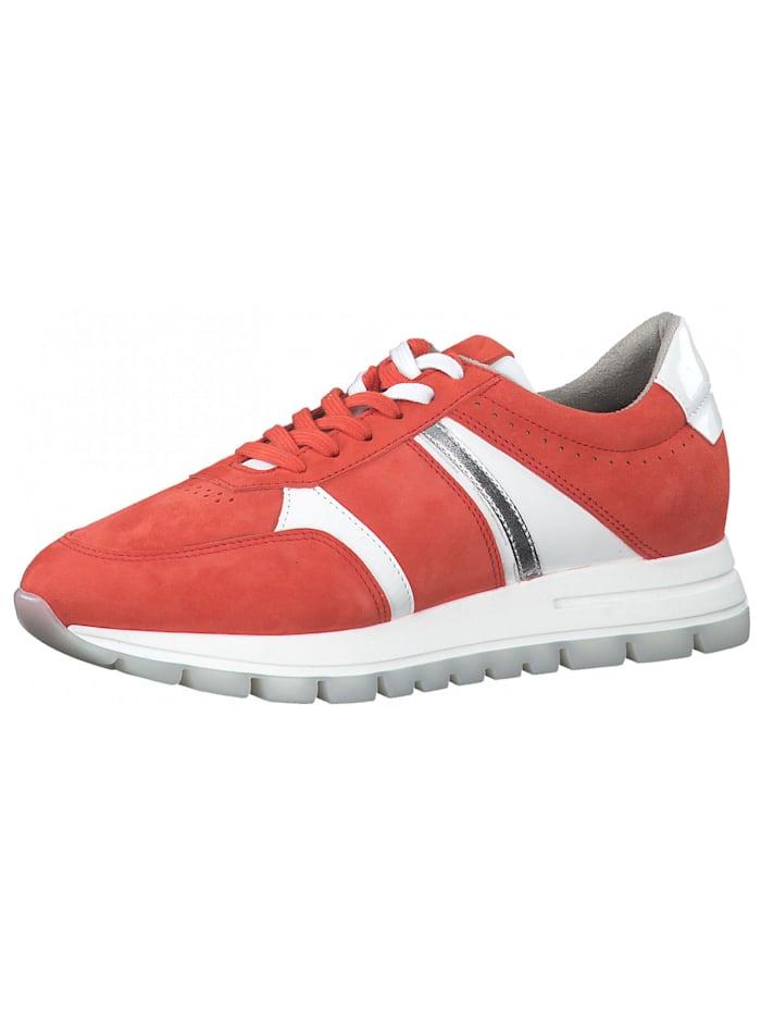 Tamaris Tamaris Sneaker, Rot/Weiß