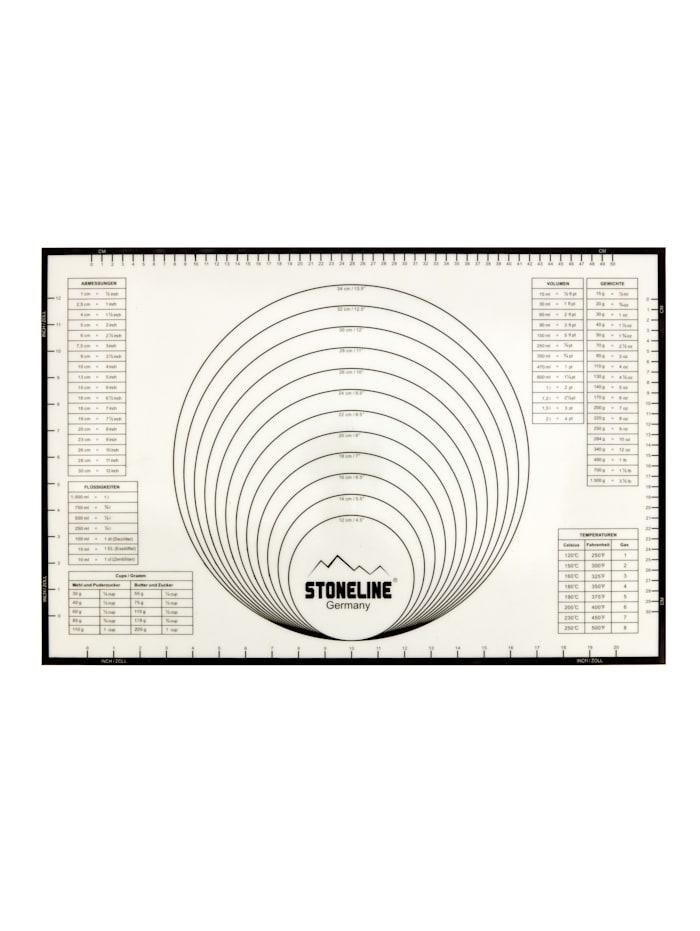 Stoneline Stoneline Backmatte, Weiß/Grau