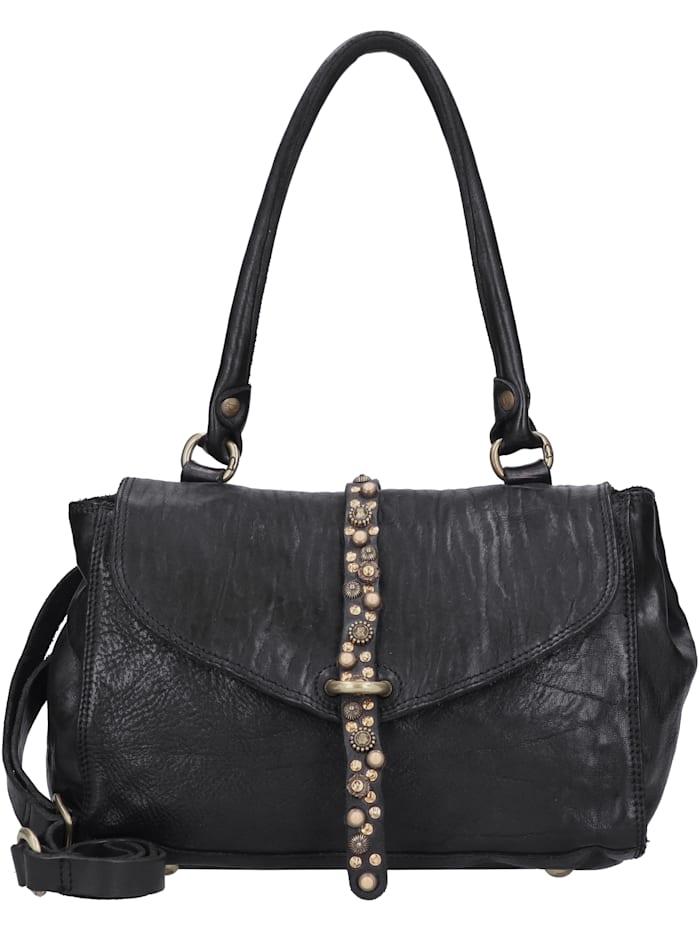 Campomaggi Handtasche Leder 27 cm, nero