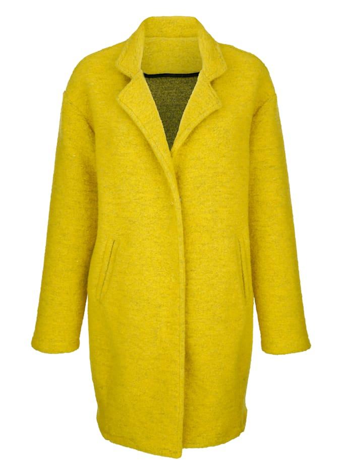 Manteau dans un coloris mode