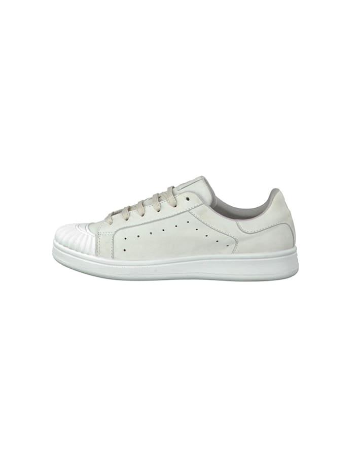 sneaker Leder Sneaker Weiß mit YOGA-IT Sohle 1-23637-28 100 White