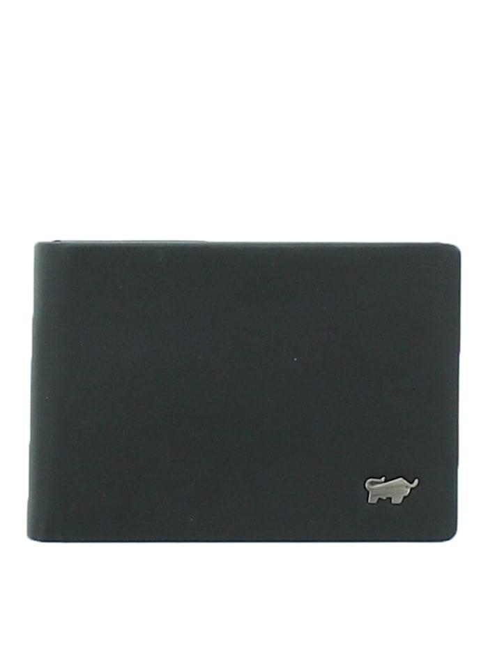 Braun Büffel Geldbörse LUZERN in elegantem Design, schwarz