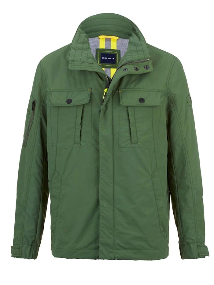 BABISTA Jacke mit Arm- und Stifte-Tasche, Grün