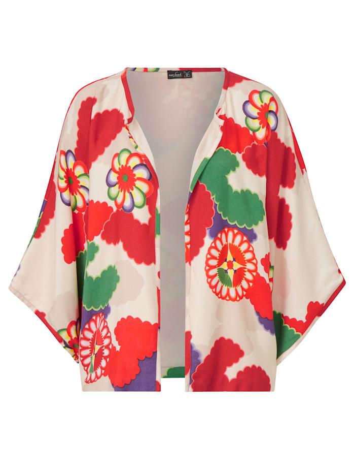 van Laack Kimono mit Blumenprint, Multicolor